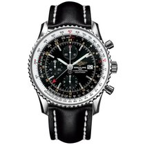Breitling Navitimer GMT Steel 46,00mm Black No numerals