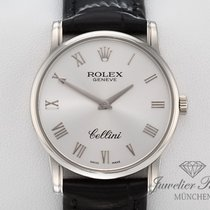 Rolex Cellini (Submodel) gebraucht 32mm Weißgold