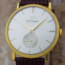 Wittnauer 32mm Manual winding 1960 pre-owned Black