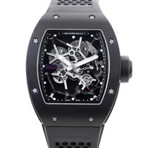 Richard Mille RM 035 Carbon 48mm Transparent No numerals