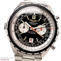 Breitling Chrono-Matic (submodel) Acero 48mm Negro Sin cifras