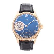 IWC Portuguese Tourbillon Rose gold 43.2mm Blue Arabic numerals United States of America, Pennsylvania, Bala Cynwyd