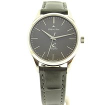 Zenith Elite Ultra Thin Steel 33mm Grey United States of America, Pennsylvania, Uniontown