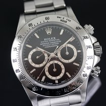 Rolex Daytona Zeljezo 40,00mm Crn Bez brojeva