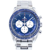 Omega Speedmaster Steel 42mm Blue United States of America, Georgia, Atlanta