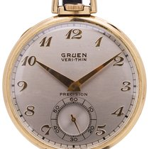 Gruen Yellow gold 45mm Manual winding pre-owned United States of America, California, West Hollywood