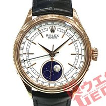 Rolex Cellini Moonphase 39mm Белый