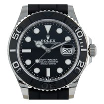 Rolex Yacht-Master 42 White gold 42mm Black No numerals United States of America, Florida, Hollywood