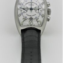 Franck Muller Steel Chronograph White Arabic numerals 40mm pre-owned
