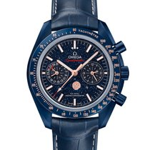 Omega 304.93.44.52.03.002 Cerámica 2020 Speedmaster Professional Moonwatch Moonphase 44.25mm nuevo