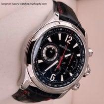 Jaeger-LeCoultre Master Compressor Chronograph 2 Zeljezo Crn Arapski brojevi
