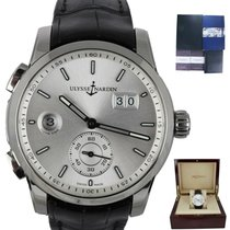 Ulysse Nardin Dual Time Steel 40mm White United States of America, New York, Smithtown