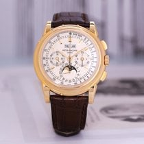 Patek Philippe 百达翡丽 5970R Rose gold Perpetual Calendar Chronograph 41mm pre-owned
