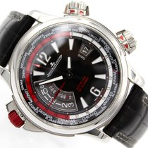 Jaeger-LeCoultre Master Compressor Extreme W-Alarm Acero 46.00mm Negro
