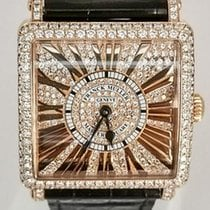 Franck Muller Master Square Rose gold 33mm Silver Roman numerals United States of America, Florida, Miami