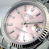 Rolex Lady-Datejust Золото/Cталь 31mm Розовый