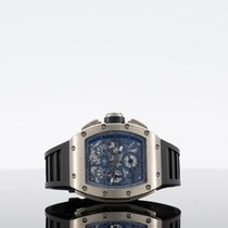 Richard Mille White gold Automatic RM 011 new