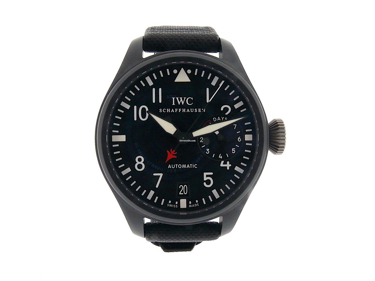 IWC Big Pilot Top Gun óra árak  4790b67a0b