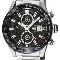 TAG Heuer Carrera Calibre HEUER 01 Steel 43mm Black United States of America, New York, Airmont