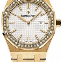 Audemars Piguet Жёлтое золото Кварцевые новые Royal Oak Lady