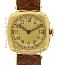 Patek Philippe 18k yellow gold vintage 1916 Cushion Case watch