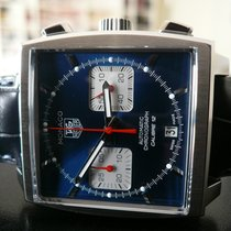 TAG Heuer Monaco Calibre 12 Staal 39mm Wit