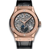 Hublot Classic Fusion Aerofusion Moonphase Rose Gold