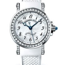 Breguet Brequet Marine 8818 18K White Gold & Diamonds...