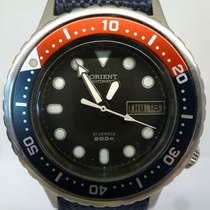 Orient vintage mid nsize diver ,rare from the end of 70th mvt...