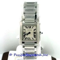 Cartier Tank Française Steel 25mm Silver Roman numerals United States of America, California, Newport Beach