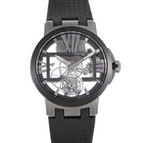 Ulysse Nardin Executive Skeleton Tourbillon Watch 1713-139