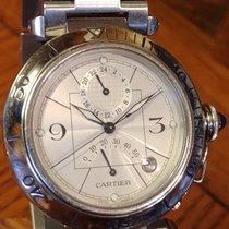 Cartier Pasha Steel 38mm Silver Arabic numerals United States of America, Alabama, Chandler