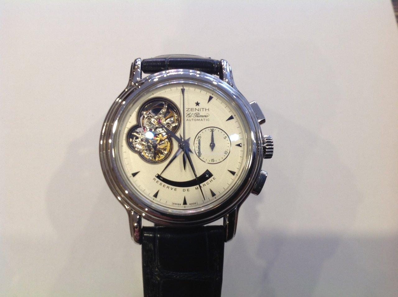 fabcdb79926 Relógios Zenith usados - Compare os preços de relógios Zenith usados