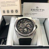 Zenith Titane 44mm Remontage automatique 95.9000.9004/78.R582 nouveau