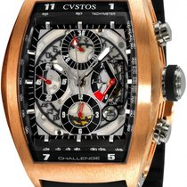 Cvstos Сhronograph Challenge Twin Time Chrono Rose Gold Large XL
