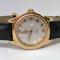 Omega Co-Axial Limited Edition 18k Pink Gold 39mm