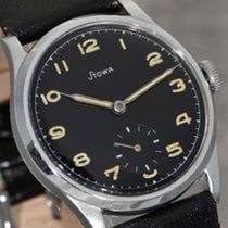 Stowa pre-owned Manual winding 35.5mm Black