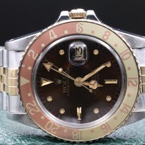 Rolex GMT-Master 1675 Tiger Eye Two Tone 1978