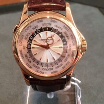 Patek Philippe World Time Or rose 39.5mm Argent France, Paris