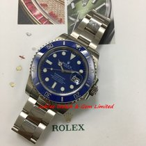 勞力士 116619LB Submariner Date 40mm White Gold V serial W Card