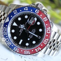 Rolex GMT-Master II Steel 40mm Black No numerals UAE, Dubai