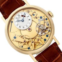 Breguet 38mm Manual winding new Tradition Transparent