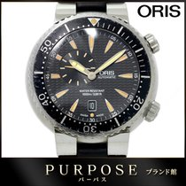 Oris 46mm Automatic pre-owned Black