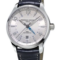 Frederique Constant Runabout Automatic Steel 42mm Silver Arabic numerals