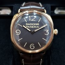 Panerai Special Editions Rose gold 47mm Brown Arabic numerals Singapore, singapore