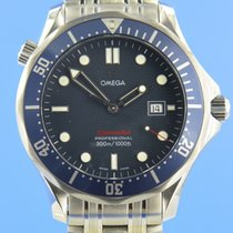 Omega 22218000 Steel Seamaster Diver 300 M 41mm pre-owned