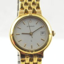 에테르나 금/스틸 24mm 쿼츠 250.2164.22 중고시계