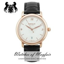 Montblanc Red gold Automatic Champagne 39mm new Star