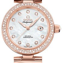 Omega De Ville Ladymatic Or rose 34mm Nacre