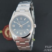 Rolex Air King Precision Acier 34mm Bleu